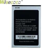 Nouvelle batterie DUO originale 2400mAh PSP5518 pour téléphone Mobile Prestigio PSP5518DUO Muze X5 X 5 Lte avec numéro de suivi