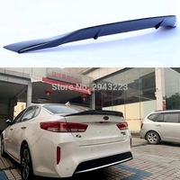 Fit For Kia K5 Optima R style 2016 2017 2018 2019 High Quality Carbon Fiber Rear Spoiler Tail Trunk Lip Wing Car Accessories