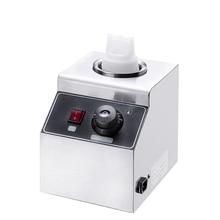 FY-QK-1 электрическая грелка для соуса 80 Вт, коммерческая грелка для соуса, грелка для горячего сыра, шоколада, диспенсер для топпинга из нержав...