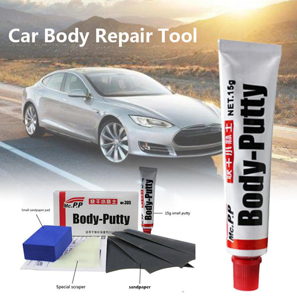 15g Car Body Putty Scratch Filler Painting Pen Assistant Smooth Repair Tool Car Paint Surface Scratch Repair Soil