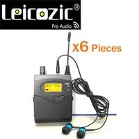 Leicozic 6 stücke empfänger für sr2050 in ohr-monitor drahtlose system bühne ausrüstungen monitor in ohr drahtlose musikalische instrumente