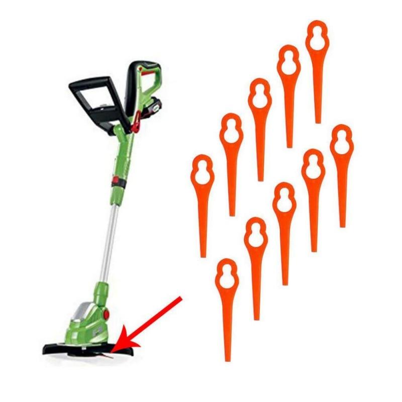 Universal Replace Plastic Blades Pendants Cutter For Florabest Cordless Grass Trimmer Brushcutter Garden Tool Accessories