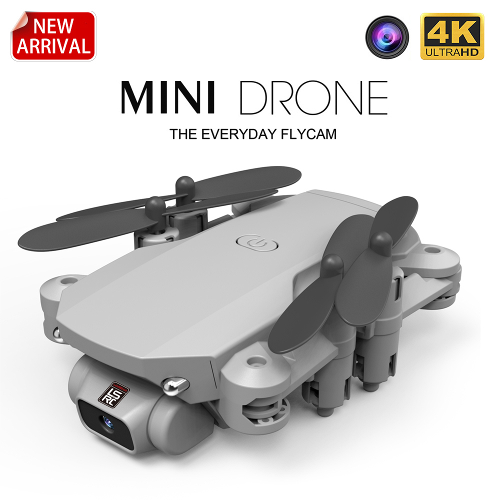 2020 New Mini Drone 4K 1080P HD Camera WiFi FPV Air Pressure Height Maintenance, Portable Foldable Quadrotor dron Children Toy()