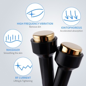 Image 5 - Profesjonalny ultradźwiękowy kobiet pielęgnacja skóry wybielanie usuwanie piegów wysokiej częstotliwości podnoszenia skóry Anti Aging piękno urządzenie do pielęgnacji twarzy