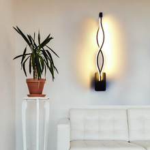 Furniture-Lighting Wall-Lamp Decorative Bedside Bedroom LED Aisle Living-Room Modern Minimalist