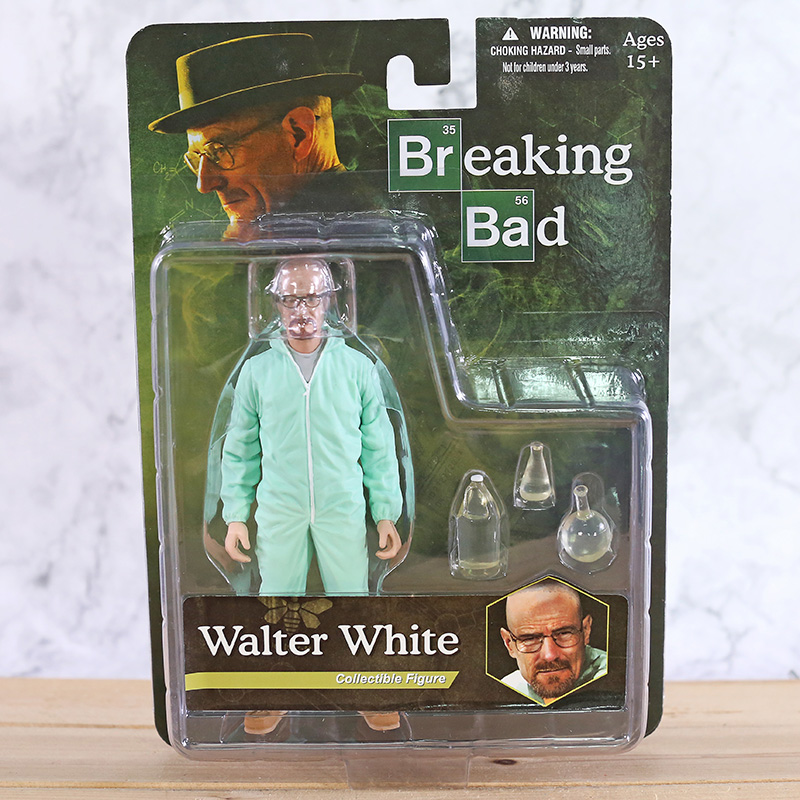 Breaking Bad Heisenberg Walter White PVC Action Figure Collectible Figure Model Toy Classic Toys image