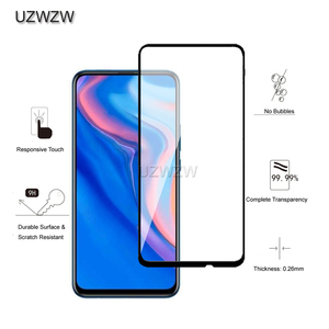 Image 2 - מזג זכוכית עבור Huawei P חכם Z מלא כיסוי 2.5D מסך מגן מזג זכוכית עבור Huawei P חכם Z