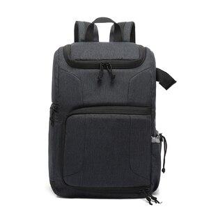Image 1 - Multi funcional à prova dwaterproof água saco da câmera mochila mochila grande capacidade portátil saco da câmera do curso para a fotografia exterior
