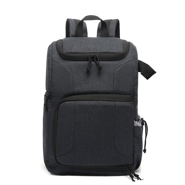 Multi funcional à prova dwaterproof água saco da câmera mochila mochila grande capacidade portátil saco da câmera do curso para a fotografia exterior