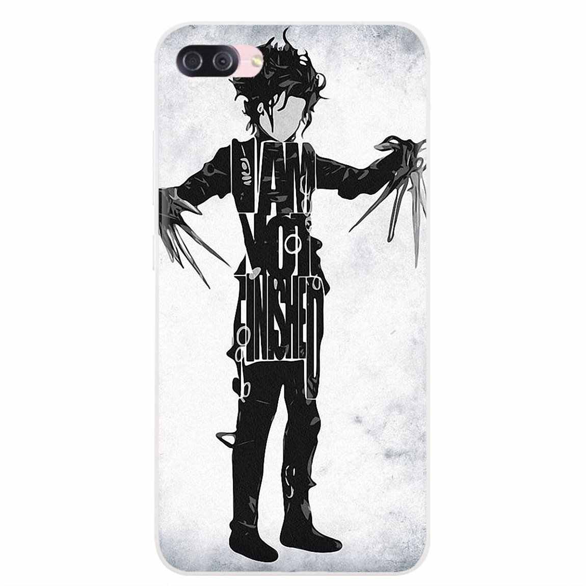 Durable Silicone Phone Case Edward Scissorhands Movie For Samsung Galaxy A10 A30 A40 A50 A60 A70 S6 Active Note 10 Plus Edge M30