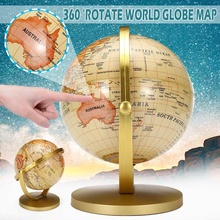 Educational-Toy Office-Gadget Miniatures World-Earth-Globe Geography 20CM Map with Stand