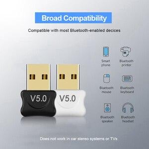 Image 3 - Kebidu מיני BT 5.0 מתאם USB Dongle אלחוטי USB Bluetooth משדר 5.0 מוסיקה מקלט Bluetooth מתאם עבור מחשב PC