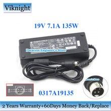 Оригинальный pa 1131 07 адаптер для ноутбука 0317a19135 19v