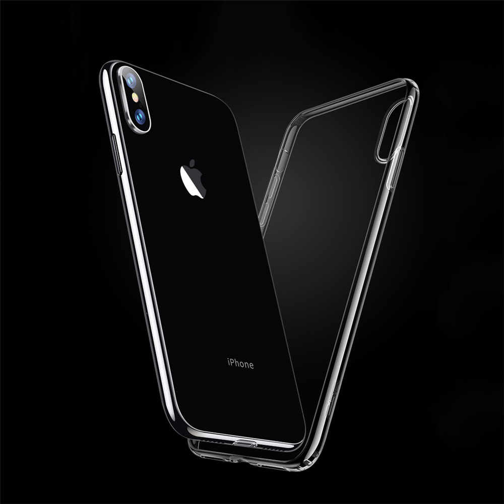 TPU for apple iPhone 7 8 Plus phone case without logo fundas for iPhone X Xs max XR 5 5s se 6 6S Plus cover