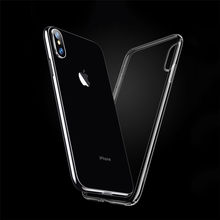 TPU para apple iPhone 7 7 Plus caja del teléfono sin logotipo fundas para iPhone X Xs X max XR 5 5S iPhone 6 6S Plus funda(China)