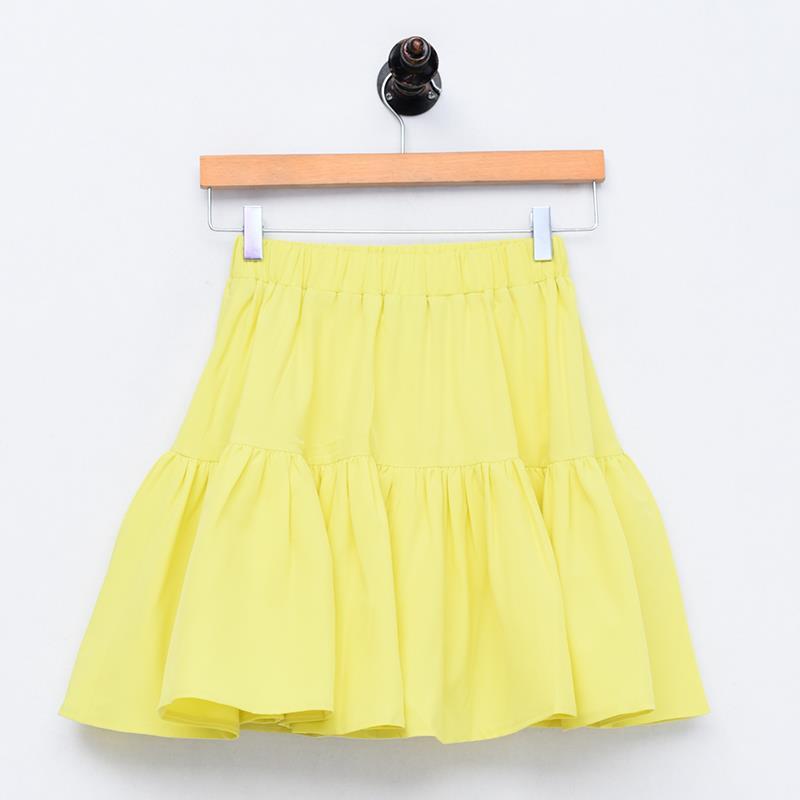 Plus Size Sexy Korean Style Ruffles Skirt M- 6XL 7XL Women Skirt High Waist Girls Sweet Cotton Linen Skirt Black White