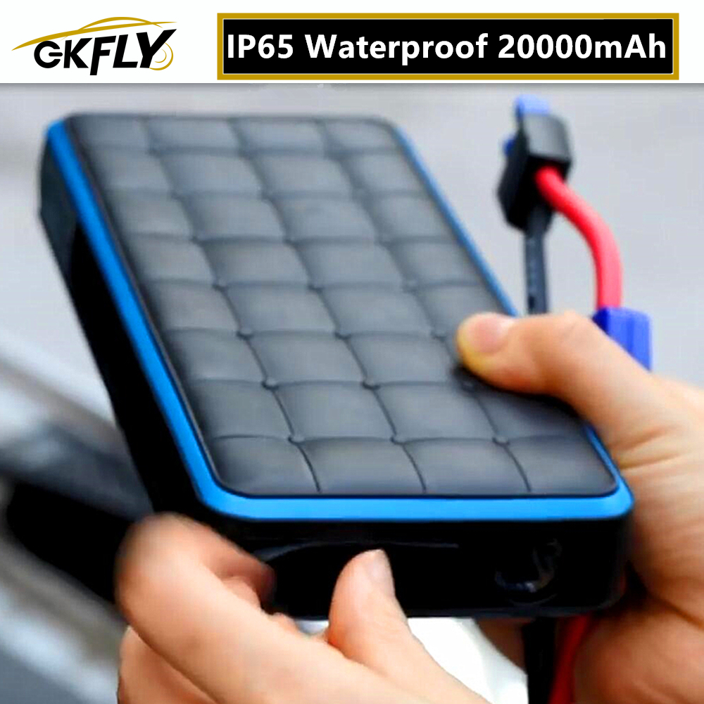 2020 Waterproof Car Jump Starter Portable Starter Battery Power Bank 12V 28000mAh Booster Buster Petrol Diesel Starting Device