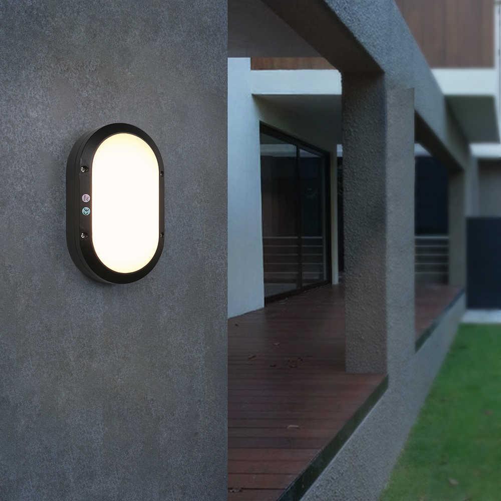 10w 22 Led 800lm Garden Contemporary Led Outdoor Wall Lights Sconces Light Control Radar Sensor Motion Wall Lamp Lighting Ideas Outdoor Wall Lamps Aliexpress