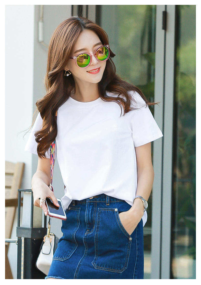 H3165467c8ab6430dad50686f13ce96fdA - high quality cotton womens t shirt kawaii cartoon t-shirt femme t shirts vintage tshirt clothes women kpop vintage tee printed