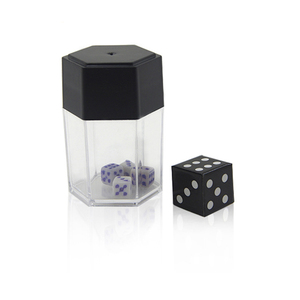 Dice Bomb - Small Magic Tricks Explosion Dice Big to Small Magia Appearing Close Up Bar Gimmick Props Accessories Comedy(China)