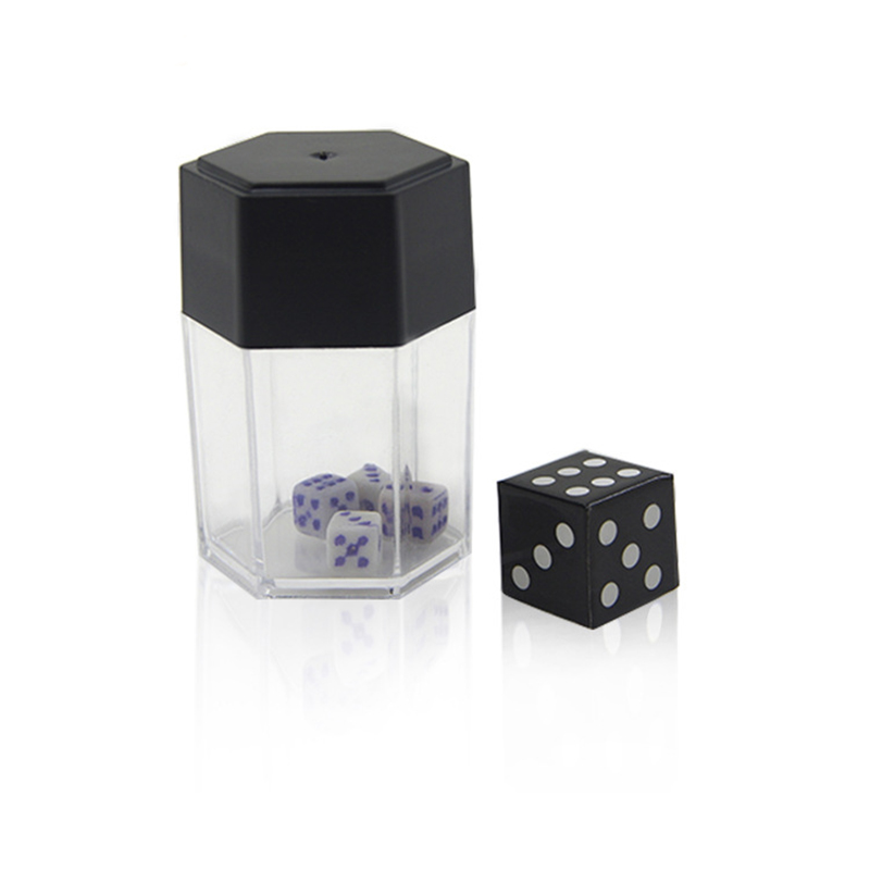 Dice Bomb - Small Magic Tricks Explosion Dice Big To Small Magia Appearing Close Up Bar Gimmick Props Accessories Comedy