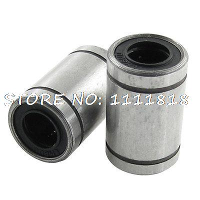 8 X 15 X 24mm Carbon Steel Linear Motion Ball Bearings