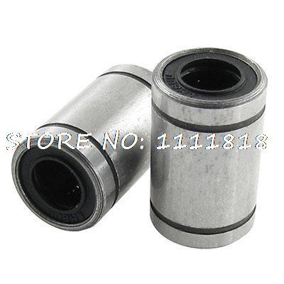 8 X 15 X 24mm Carbon Steel Linear Motion Ball Bearings