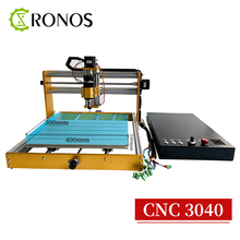 CNC 3040 Wood Router 3 Axis Engraving Carving Laser/Spindle 2 in 1 Milling Machine Equip with New Multifunction GRBL Control Box