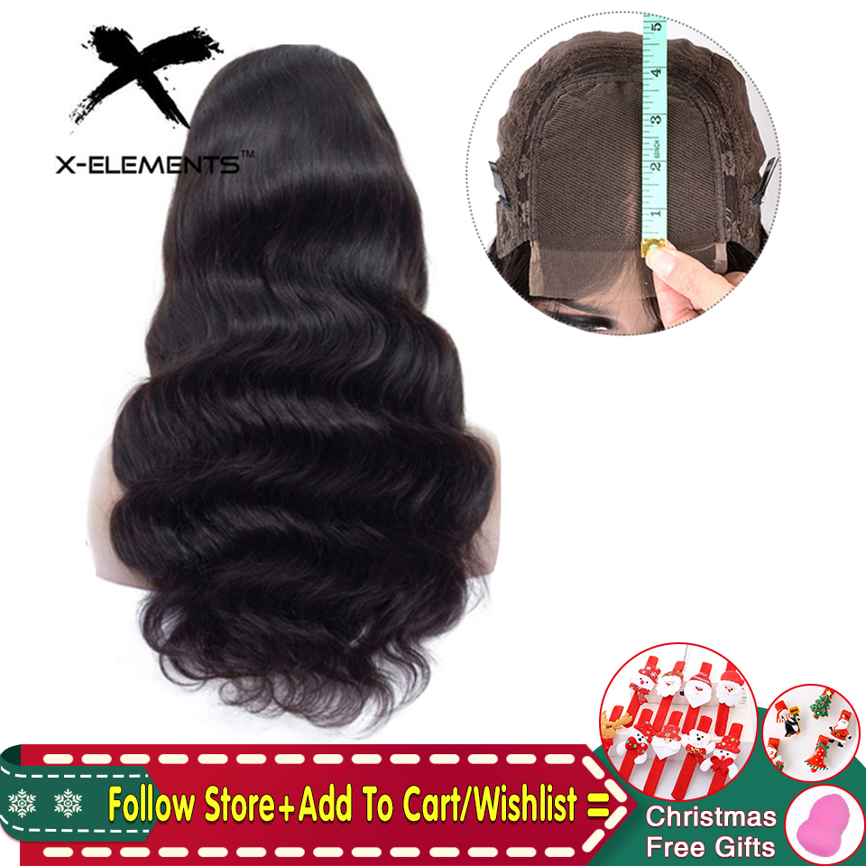 Peruvian Body Wave Lace Human Hair Wigs For Women Remy 4x4 Closure Wig Natural Color Lace Closure Human Hair Wigs With Baby Hair