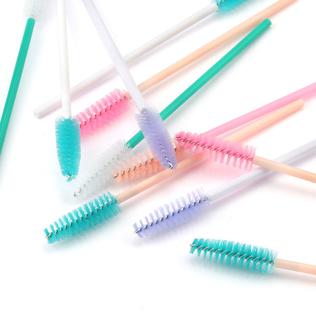 Eyelash Extension Disposable Eyelash Brush Mascara Stick Applicator Propeller Eye Lash Makeup Brush Set Makeup Tools 3