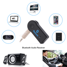pcmos 3.5mm Wireless Handfree Bluetooth Receiver Transmitter Adapter Jack For Car Music Audio Aux A2dp Interior Accessories Clip
