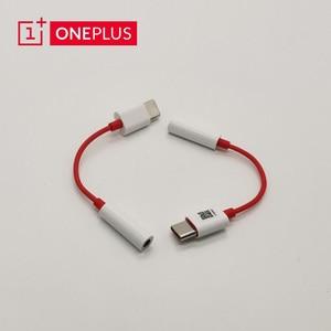 Original Oneplus 8 7 pro 6T Type C To 3.5mm Jack Earphone headphone Converter USB Type-C AUX Audio Adapter music converter cable(China)