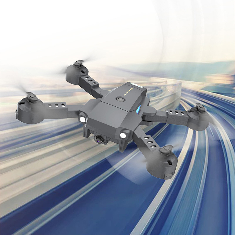 Ya Gotta A Throw Namely Fly Portable Folding Unmanned Aerial Vehicle Gravity Sensing WiFi High-definition Real-Time Aerial Photo