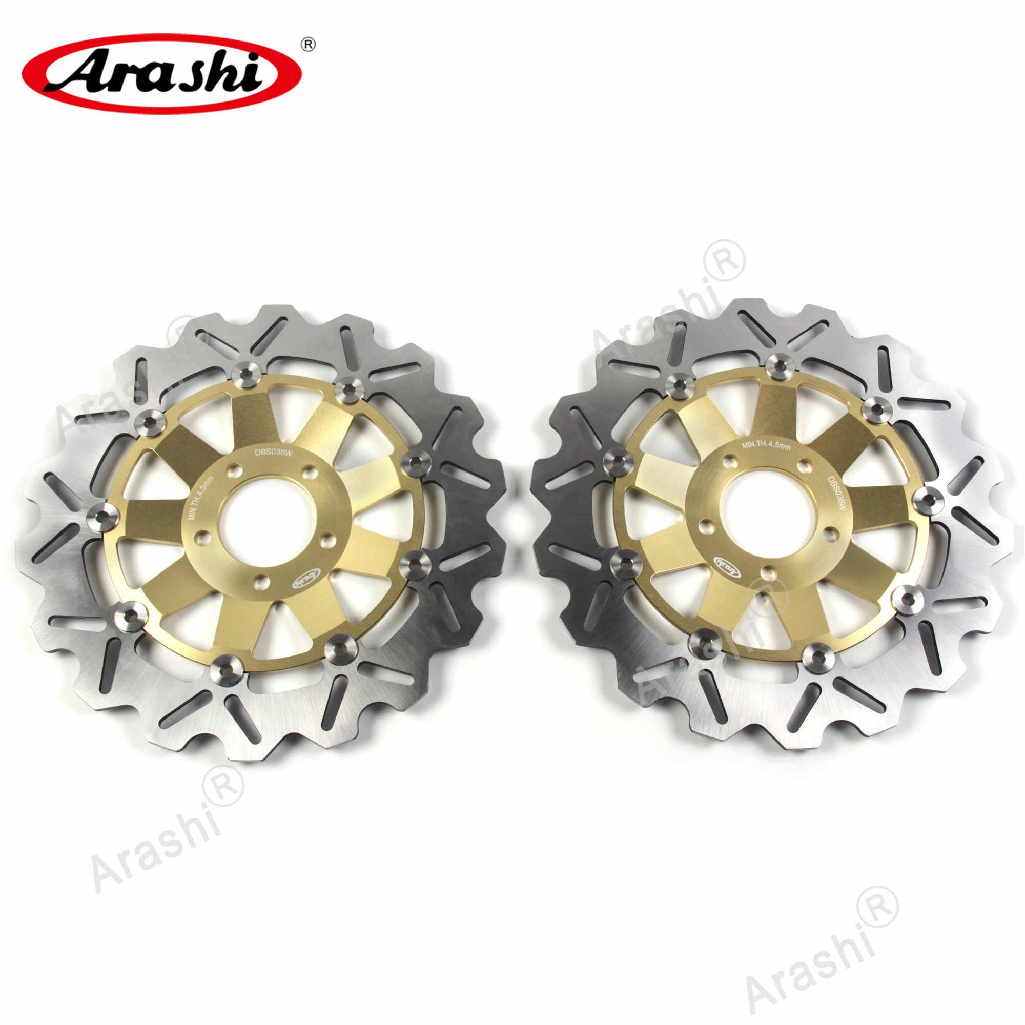 ARASHI For Kawasaki ZX6R NINJA 600 1995-2001 95 96 97 98 99 00 01 CNC Front Brake Rotors Brake Disc ZXR 400 ZX-6R ZX 6R ZZR-600