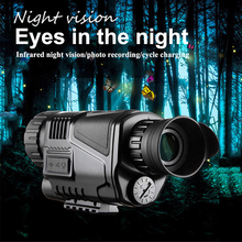 Powerful Tactics High Power HD Digital Infrared Night Vision Monocular Telescope BAK4 Photographing Tourism Hunting Multipurpose fashion 2018 super high power 35x50 portable hd optics bak4 night vision monocular telescope dropshipping 7 27