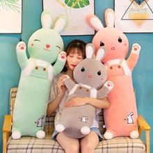 купить New Cute Cartoon Rabbit Plush Toy Stuffed Animal Rabbit Doll Toys Home Plush Pillow Long Style Pillow Girls Gift недорого