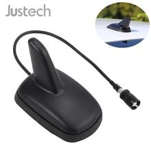 лучшая цена High Quality FM/AM Antenne Shark Fin For Skoda Seat Citroen Raku II 2 VW Passt Golf IV 4 Polo Lupo Car Roof Base Signal Aerial