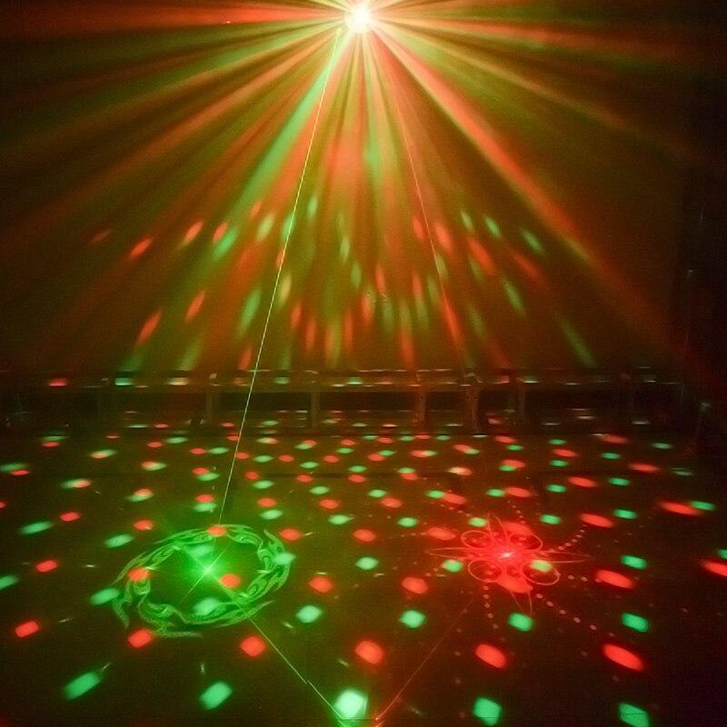 La boule de LED disco de WUZSTAR DJ allume l'effet d'éclairage de décoration d'étape lumière Laser de partie de rvb DMX pour la barre de Club de Festival de mariage - 3