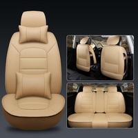 WLMWL Universal Leather Car seat cover for Mercedes Benz all models w212 A180 B200 c200 c300 E class GLA GLE S500 GLK CLA