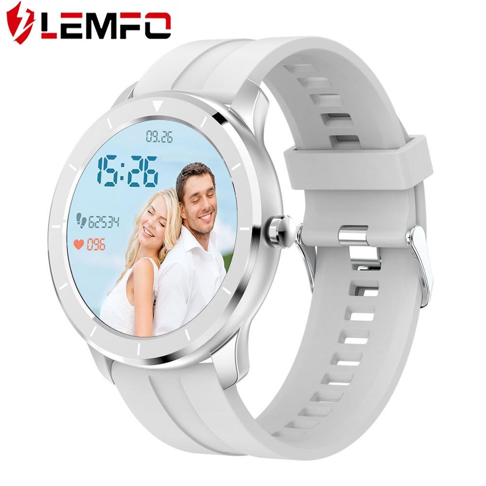 LEMFO T6 Full Touch Screen Smart Watch Men Women Custom Heart Rate Monitor Message Reminder Health Sport Tracker Smartwatch