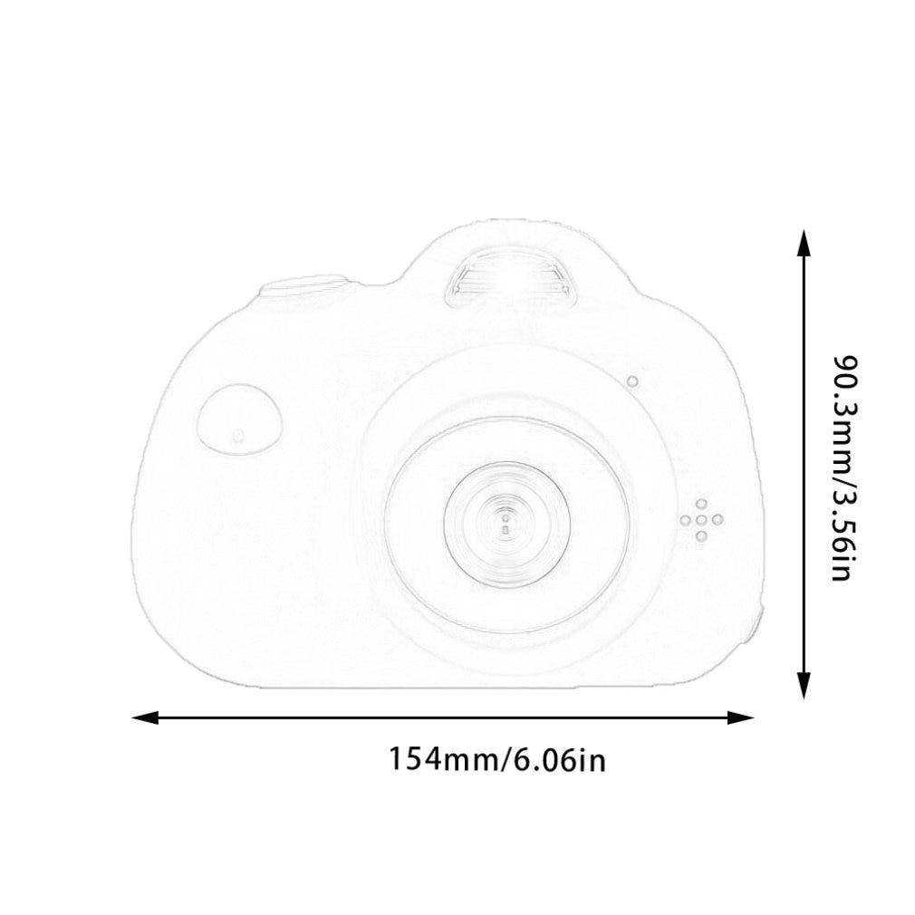 Appareil Photo Mini appareil Photo numérique photographie Prop décoration Cool enfants appareil Photo pour enfants cadeaux d'anniversaire jouet éducatif - 4