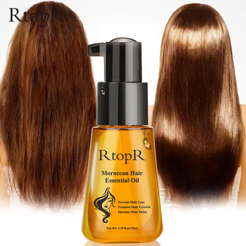 Morocco hair loss prevention product basic growth oil easy to carry hair care care care care 35 ml for men and women