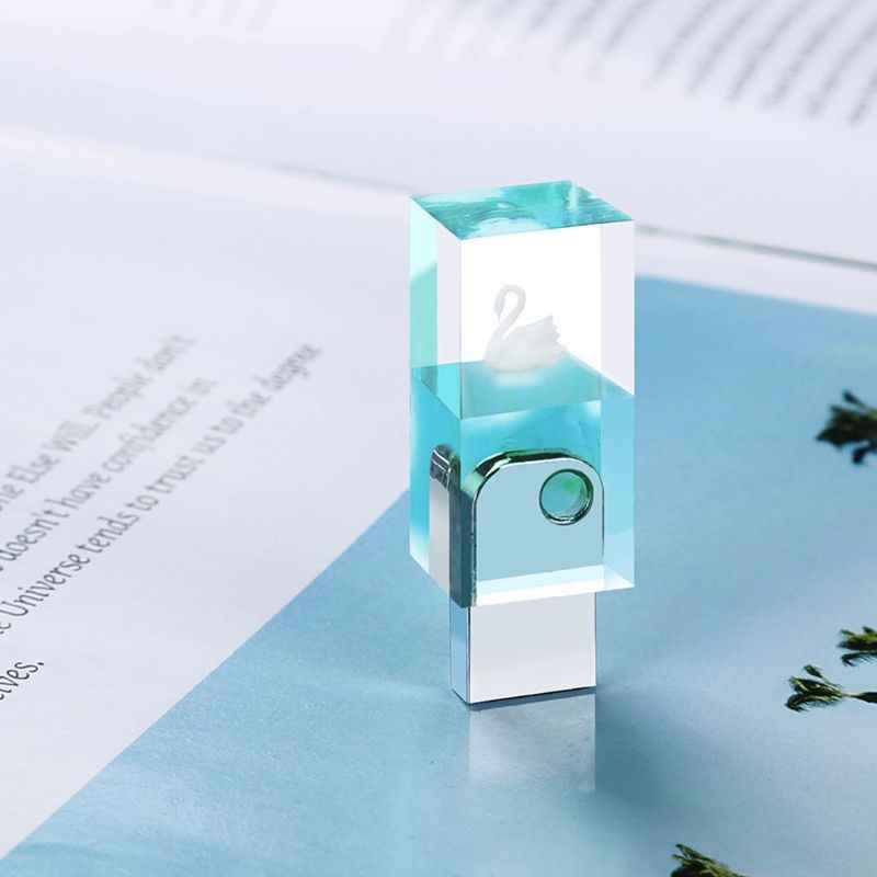 Tự Làm Núi Tuyết USB Nhựa Khuôn Bộ Có 8G USB Driver Nhựa Dính Làm Khuôn