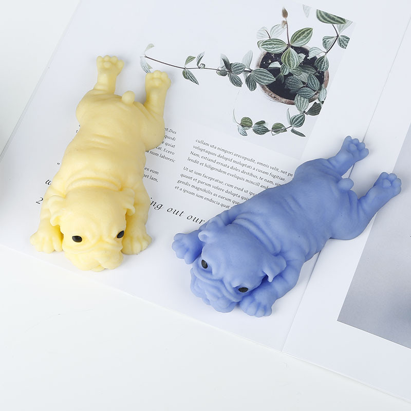 Squishy Cute Dog Pig Antistress Ball Squeeze Slow Rising Soft Sticky Stress Relief Funny Gift Trick Toys For Kids Adults