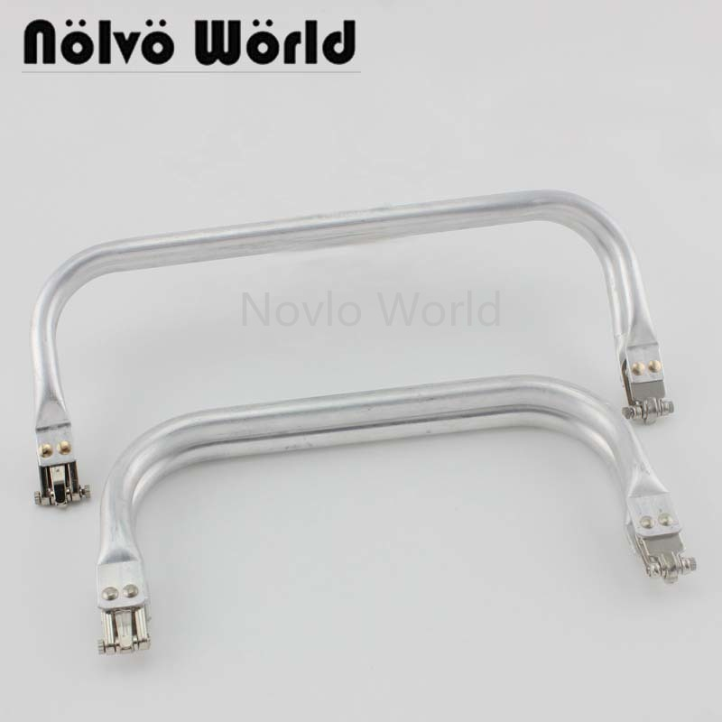 1-5 Pieces,Medium 7.5 Inch 8 Inch Large 10 Inch Light Weight Aluminum Tube Clutch Bag Frame,Classical Pouch New Frames