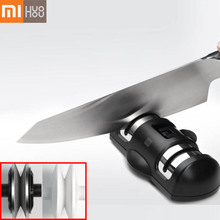 XIAOMI Mijia HUOHOU Sharpen Stone Double Wheel Whetstone Sharpeners K-nife Sharpening Tool Grindstone Kitchen Tools