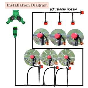 Image 2 - MUCIAKIE 50M 5M DIY Tropf Bewässerung System Automatische Bewässerung Garten Schlauch Micro Drip Bewässerung Kits mit Einstellbare tropfer