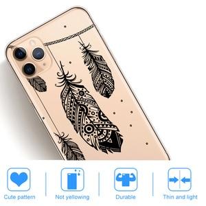 Черный сексуальный цветочный чехол для телефона iPhone 12 Mini 11 Pro XS Max 6S 8 7 Plus X XR 5S SE 2 Мандала кружевной Цветочный Мягкий силиконовый чехол