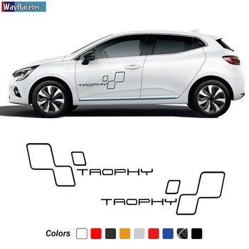 2 stickers RENAULT sport side-skirt GT ref 17 racing tuning sticker