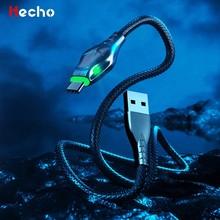 Cable Micro USB de carga rápida para teléfono móvil, Cable de carga de USB-C de 1M/2M/3M, 5A, tipo C, para Huawei P40, P30, Xiaomi
